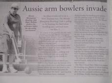 Aus Armed Bowlers in NZ