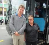 Bus driver Lyn.