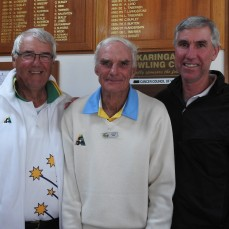 Phil Gude, Graham Peck and Ray Arnold