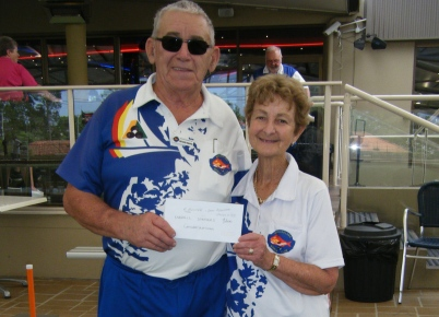 MABA Pine Rivers winners Carol Azzopardi and Richard Knopke (skip) from Mooloolaba - Copy (2)
