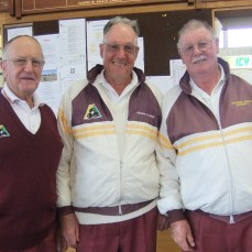 Runner's Up: Bill King, Graeme Clark & Graeme Smith (Swan Hill).