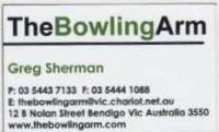 Greg Sherman Business Card