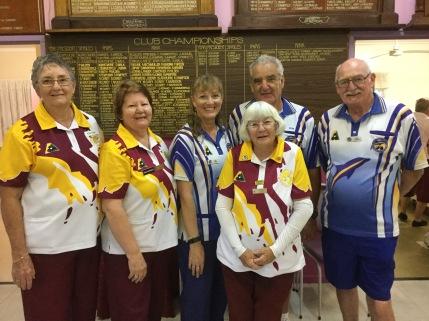 Winners Ann Power, Bob Ormesher & John Cobden of Victoria