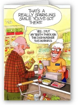 Dishwasher teeth