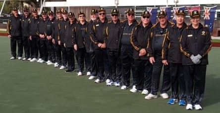 W. A. Team 2017 fr WA Bowls E News