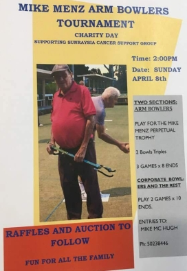 Mildura Bowls Club Armed Event 8 Apr 18