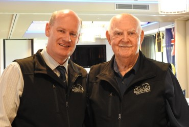 Steve Duggan CEO & Bill Hoskin Club Pres.
