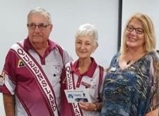 3. Third Carol Azzopardi and Gold Coast_s Ron Schofield