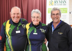 Best 1st Doug Corrigan, Janice Corrigan and Ian McLeod