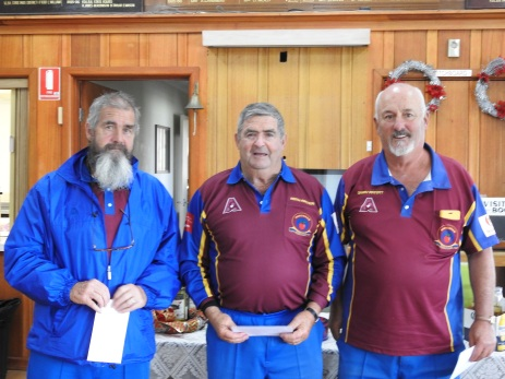 Winners Dromana Peter, Keith and Gary.
