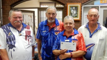 Best 3rd Game Joan & Cec Moss with Bob Benghamy (sub)