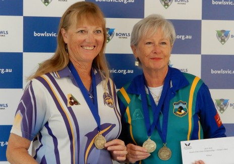 Vic. State Armed Women's Prs Winners