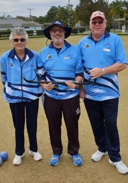 Woomeras Woomeras Managers team, Lorraine Dodd, Jim Stephanis & Greg Molyneux
