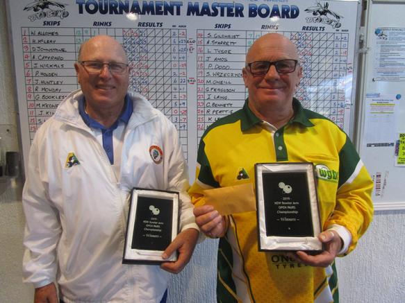 1 Winners Glen Douglas & Darren Johnstone