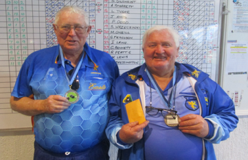 2 Rup Alan Duncan & Herb McLeay