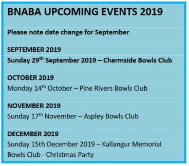 BNABA Upcoming events